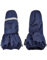Minymo Handschuhe mit Reflektor LE 94 medieval blue 160294-7649