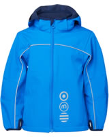 Minymo Softshell-Jacke mit Kapuze BASIC 45 clear blue 3945-7509