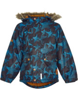 Minymo Snow jacket with hood GAM 20 8000 mm deep stone 160220-1890