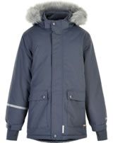 Minymo Snow jacket with hood TUSSOR ombre blue 160424-7470