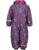 Minymo Snowsuit Oxford 8000mm loganberry 160445-6730