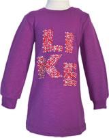 Minymo Sweat-Kleid RONJA 12 fuchsia meliert 120124-620