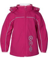 Minymo Softshell-Jacke mit Kapuze BASIC 45 rose red 3945-4402
