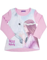 Miss Melody T-shirt manches longes cheval blanc rose 84033-825