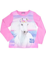 Miss Melody T-shirt manches longes cheval blanc rosa 84034-826