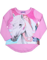 Miss Melody T-shirt manches longes cheval blanc rose 84035-810