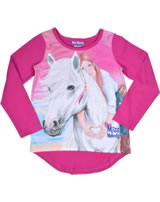 Miss Melody T-shirt manches longes cheval blanc pink 84035-977