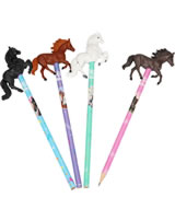 Miss Melody pencil with 3 D Horsefigure