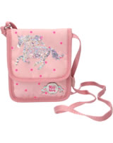 Miss Melody neck pouch sequins mallow