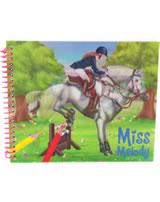 Miss Melody Dress up your Horse Mal- und Stickerbuch