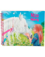Miss Melody Dress up your Horse Mal- und Stickerbuch