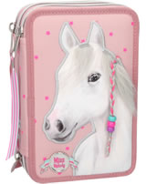 Miss Melody pencil case with three parts and filling mallow