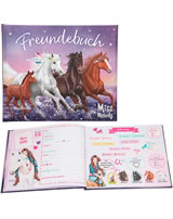 Miss Melody Freundebuch Heartbreaker, Miss Melody, Dancer und Pelly