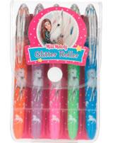 Miss Melody Glitter Roller Set 5 Farben