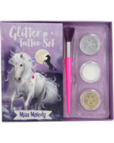 Miss Melody Glitter Tattoo Set