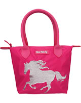 Miss Melody hand bag with sequins horse pink
