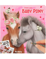 Miss Melody colouring book Create your Baby Pony