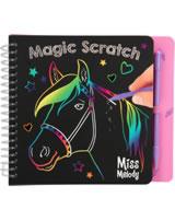Miss Melody coloring book Mini Magic Scratch