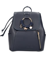 Miss Melody backpack imitation leather blue