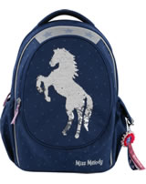 Miss Melody backpack sequins blue