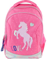 Miss Melody backpack sequins pink