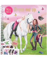 Miss Melody Stickerbuch Dress me up Jella & Sienna