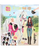 Miss Melody album avec autocollantes Dress me up Sienna & Miss Melody