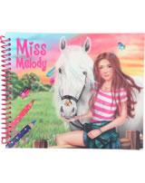 Miss Melody sticker book Dress me up Sienna