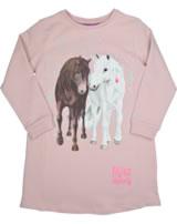 Miss Melody Sweatkleid Langarm Traumpferde cameo pink 84088-892