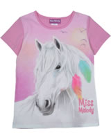 Miss Melody T-shirt short sleeve FEATHER cyclamen 84066-826