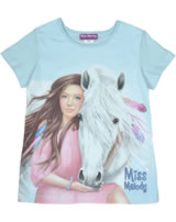 Miss Melody T-Shirt Kurzarm SIENNA UND MISS MELODY cool blue 84065-643