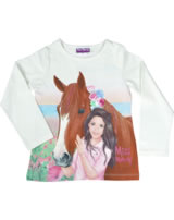 Miss Melody T-shirt manches longes cheval brun snow white 84056-012