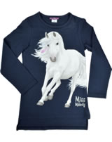 Miss Melody T-shirt manches longes cheval blanc navy blazer 84053-776