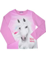Miss Melody T-shirt manches longes cheval blanc opera mauve 84062-942