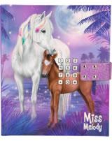 Miss Melody Tagebuch mit Geheimcode Stute mit Fohlen