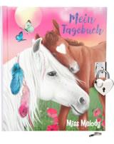 Miss Melody Tagebuch mit Stickern mit Fohlen