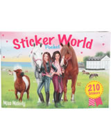 Miss Melody Taschen-Stickerbuch Sticker World