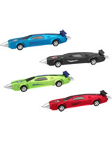 Monster Cars ball pen with pullback motor