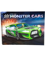 Monster Cars livre à colorier Create your Monster Cars