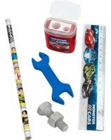 Monster Cars writing set
