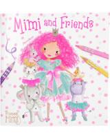 my Style Princess livre à colorier avec amis