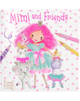 Princess Mimi Malbuch mit Freunden