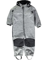 name it Overall softshell NITBETA Mini frost gray 13138212