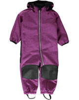 name it Softshell-Overall m.Teddyfell NITBETA Mini festival fuchsia 13138218