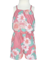 name it Jumpsuit Overall NITVIGGADI Kids Blumen flamingo pink 13140757