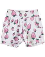 name it Sweat-Shorts NITVIGGADI Mini bright white Erdbeere 13140763
