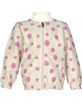 name it Sweatjacke NITFILINI Mini Girl Punkte flamingo pink 13143187