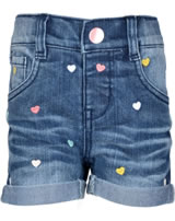 name it Jeans-Shorts Denim NITBERNA  Slim medium blue denim Herzen 13145371