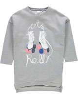 name it Long-Sweatshirt Tunika NITHARDY grey melange 13146106