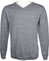 name it Wollstrick-Pullover NKMIMANN grey melange 13156195